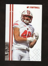 Wisconsin Badgers--2017 Football Pocket Schedule--UW Credit Union