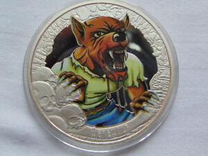 WEREWOLF / SOUVENIR COIN/MEDAL