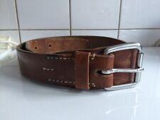 Detline leatherworks Leder Gürtel 95 Belt Heritage Military