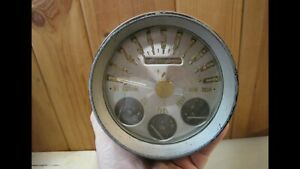 1949 1950 NASH BULLET UNISCOPE SPEEDOMETER GAUGE TROG SCTA RAT ROD SPEEDO TRUCK