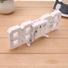 Digital LED Tisch Schreibtisch Uhren LED Schreibtischuhr Alarm 24 or 12 Stunden