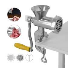 New Meat Grinder Mincer Stuffer Hand Manual Sausa Filler Maker Machine Multi US