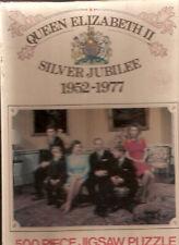 Queen Elizabeth Prince Charles England Jubilee Vintage Jigsaw Puzzle 500 piece*