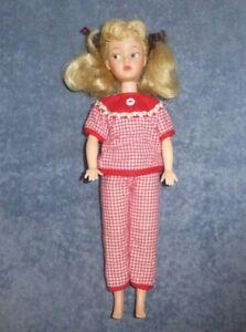 Vintage Kellogg Calico Lassie Elli Mae Clampett Tammy Clone Doll in Pajamas