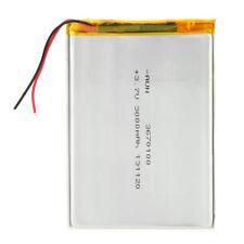 "3.7V 3000mAh Polymer Lithium Batterie Akku für 7""Tablet PC AsusAcerLenovoSamsung"