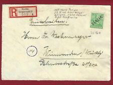 Briefmarken aus Berlin (1949-1990) als Bedarfsbrief mit Echtheitsgarantie