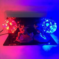 Anime Dragon Ball Z VEGETA & GOKU Power Up Led Light Lamp Action Figure Gift