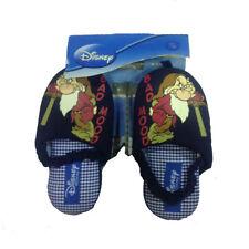 BRONTOLO pantofole stoffa blu con elastico varie taglie da bambino taglia 27/28