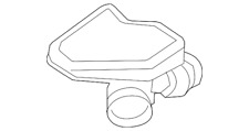 Genuine Ford Air Inlet Assembly BT4Z-9B659-A
