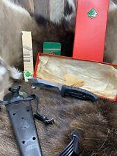 1980 VINTAGE 6368 Puma Capri subacquei Knife & Guaina con tag come nuovo in scatola rossa