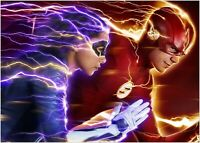The Flash & Nora Large Poster Art Print - A0 A1 A2 A3 A4 Sizes
