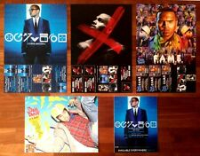 CHRIS BROWN X | Fortune | F.A.M.E Ltd Ed Huge RARE New 5 Posters Lot! FAME Rap