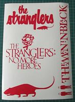 STRANGLERS RED LOGO/HEROES/RAT/MIB CAR STICKERS