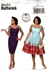 Butterick Sewing Pattern B6453 6453 Patterns By Gertie Misses' Dress 6-14