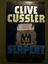3 Pbks by Clive Cussler Serpent from the Numa Files, The Silent Sea & Zero Hour