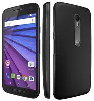 Motorola Moto G XT1541 8GB Black 4G-LTE 3rd Gen Smartphone Mobile Phone Grade A