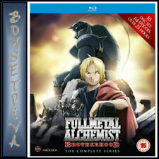 Fullmetal Alchemist Brotherhood Complete Series Episodes 1 - 64