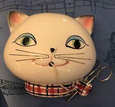 Holt Howard ©1958 Ceramic Cat String Holder
