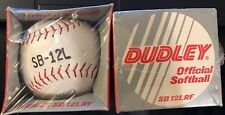 Lot Of 2 Dudley Sb 12Lrf Official Softball New Unopened