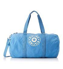 NEW Kipling Onalo L Dynamic blue large duffle overnight bag 57cm 33L Rrp£93