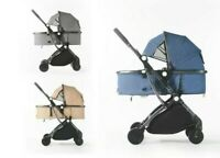 2 in 1 Baby Pushchair Pram Buggy Compact Travel