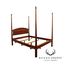 New listing Stickley Solid Cherry Queen Size Poster Bed
