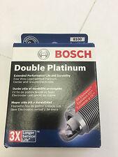 Bosch Double Platinum Spark Plug 8100 Set of 4 fits A4 Azure Accent Elantra Rio