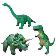3 Inflatable T-Rex Brachiosaurus Triceratops Dinosaurs Bundle Toy