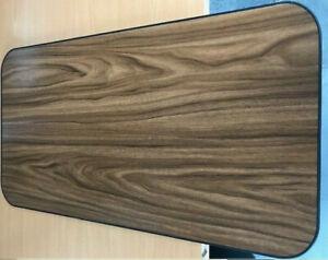 Caravan Camper Motorhome Furniture Kitchen TABLE TOP ONLY - WALNUT/BLACK