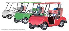 Fascinations Metal Earth 3D Laser Cut Steel Model Kit Golf Cart Set MMS108