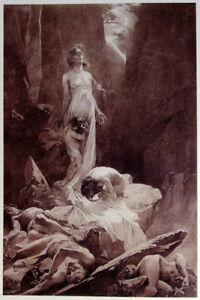 Le Pater 1899 Alphonse Mucha Vintage French Art Nouveau Canvas Print 17x25