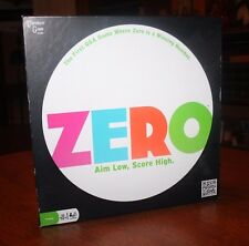 Zero - The First Board Game Where Zero is a Winning Number -Aim Low, Score High!