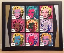 STEFANIE,MARILYN MONROE,ALL ABOUT THAT BASS,SIGNED,ANDY WARHOL,STEVE KAUFMAN PIC