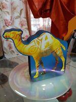 CAMEL Rarissimo Esposizione a veranda forma di cammello ORIGINALE da collezione