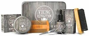 Viking Revolution Beard Care Kit for Men - Ultimate