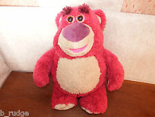 "Large 14"" TALKING Disney Toy Story Lotso Huggin Bear scented plush figure toy"