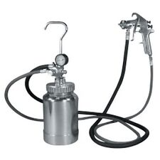 Astro Pneumatic 2PG8S 2 Quart Pressure Pot with Silver Gun and Hose