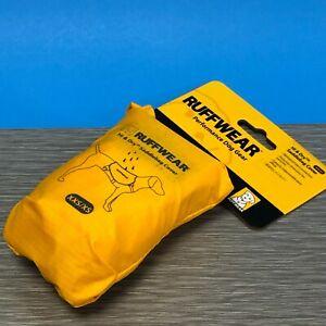 Ruffwear Yellow Saddlebag Cover Waterproof Dog Pack Protection Size XXS/XS New