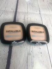 L'Oreal Infallible Pro Glow Longwear Pressed Powder ~ # 24 Natural Beige