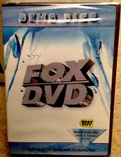 FOX DEMO DISC #2 - Ice Age, Planet of the Apes Moulin Rouge! NEW! Sealed!