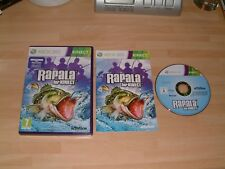 RAPALA FISHING FOR KINECT ....... MICROSOFT XBOX 360 KINECT CAMERA GAME
