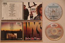 2 CDs, INXS - Kick + Listen Like Thieves