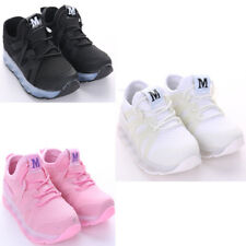 Kids Girls Boys LED Trainers Light Up Shoes Sneakers Flashing Casual New Size