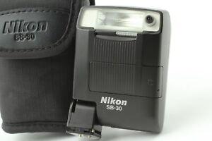 [Near MINT w/case] Nikon Speed light SB-30 Shoe Mount Flash for Nikon From Japan