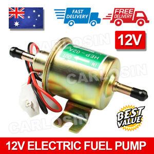 New Universal 12V Electric Fuel Pump Inline Diesel Petrol Low Pressure