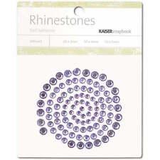 Kaisercraft - Rhinestones - Lilac - Self Adhesive - Gems - Purple
