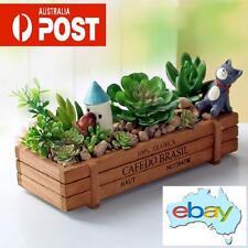 ANTIQUE LOOKING WOODEN PLANTER BOX / SUCCULENT POT PLANT GARDEN AUSTRALIAN STOCK