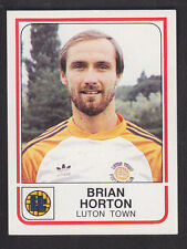 Panini - Football 84 - # 145 Brian Horton - Luton