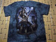 Large- NWOT Metal Tye Dye Delta Brand T- Shirt