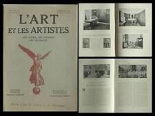 L'ART ET LES ARTISTES 1924 GERNEZ, MAURICE LEDERLE, CHAPELLE BRETAGNE, ART DECO